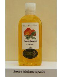 Goudsbloem/Munt-olie 100 ml