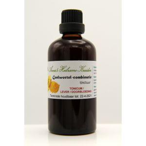 Geelwortel-combinatie tinctuur 100 ml